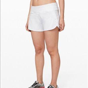 LULULEMON white shorts size 6